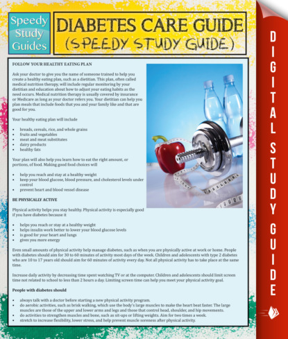 Diabetes Care Guide (Speedy Study Guide)