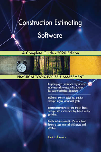 Construction Estimating Software A Complete Guide - 2020 Edition