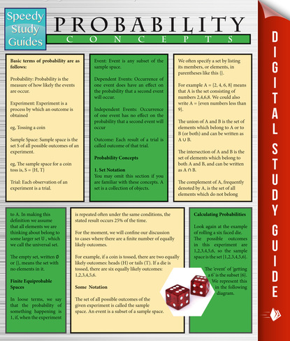 Probability Concepts (Speedy Study Guides)
