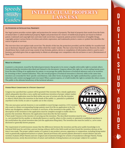 Intellectual Property Laws USA
