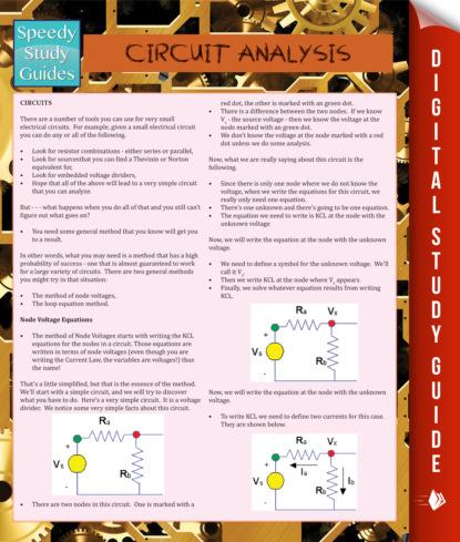 Circuit Analysis (Speedy Study Guide)