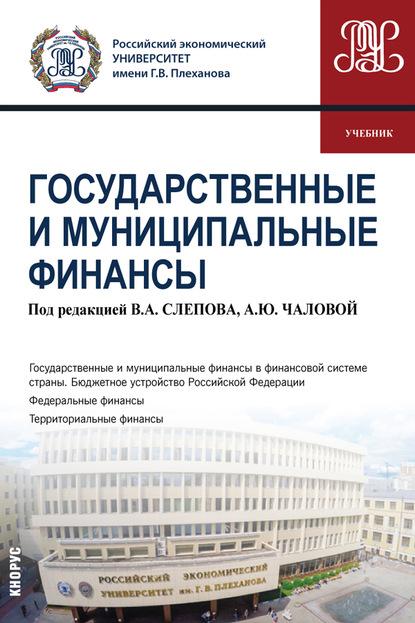 Государственные и муниципальные финансы.