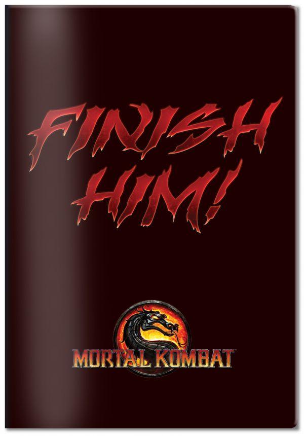 Обложка для паспорта Mortal Kombat