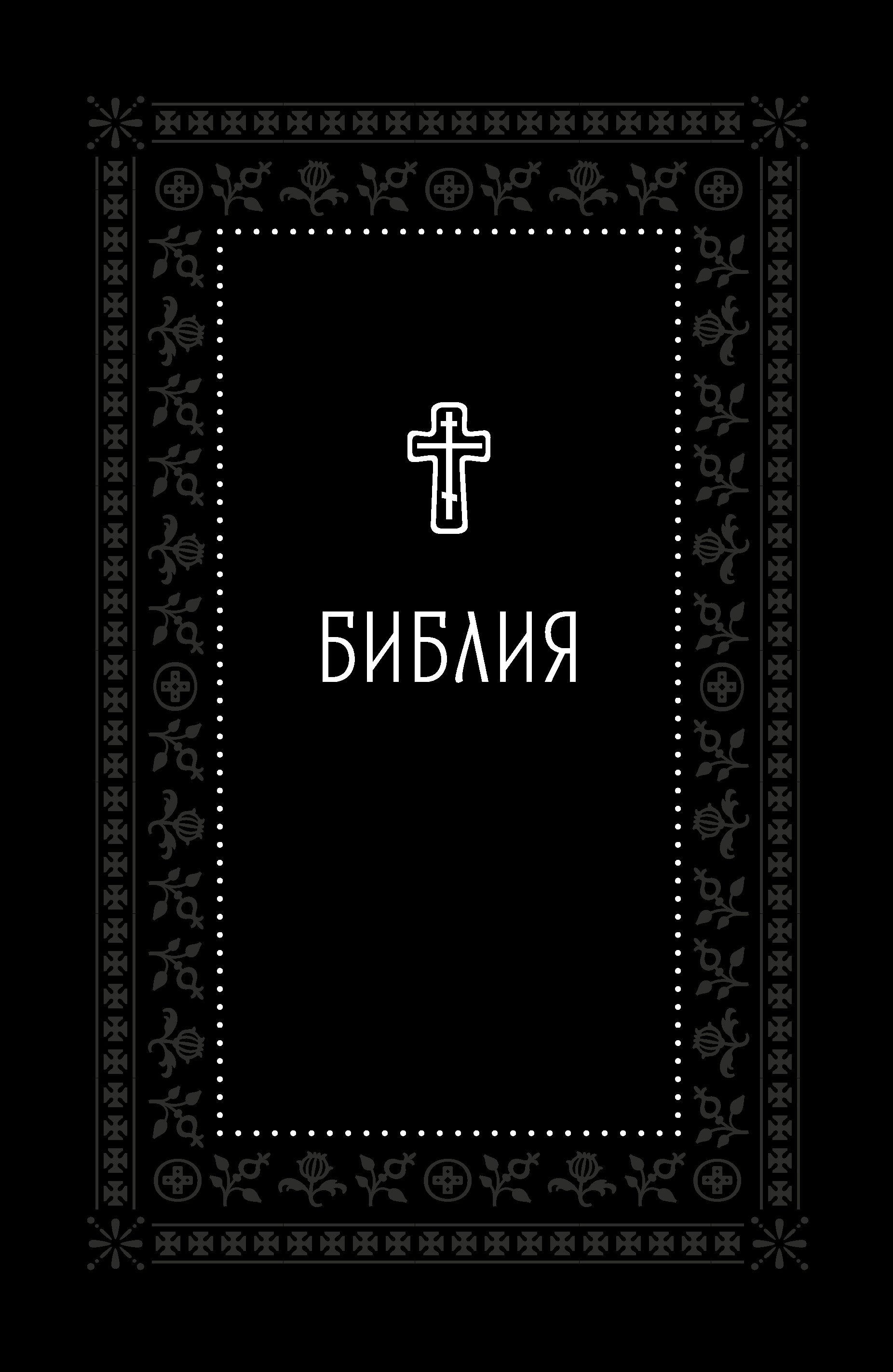 Библия. Книги Священного Писания Ветхого и Нового Завета. Серебряная серия